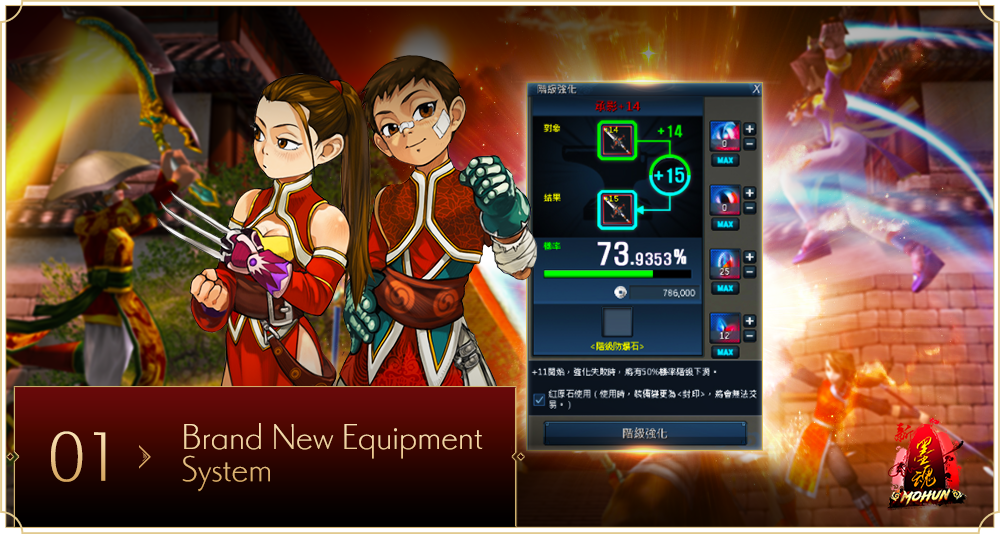 Brand New Equipment System